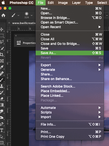 save as jpeg in photoshop. Converting files into JPEG in photoshop