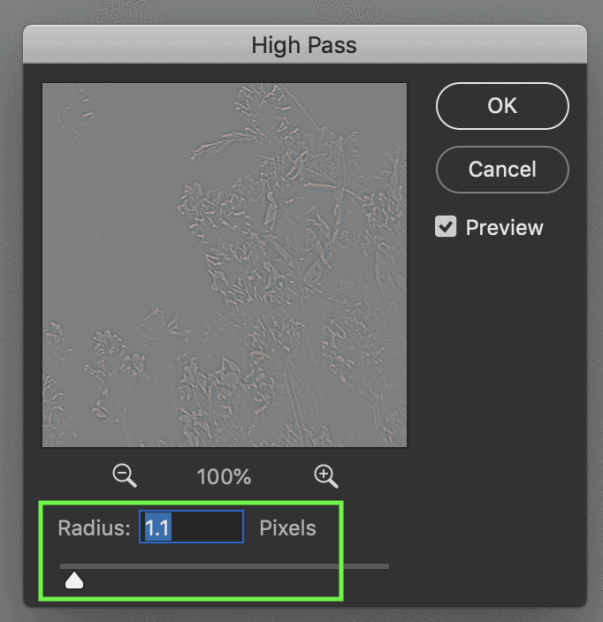 High Pass Filter In Photoshop