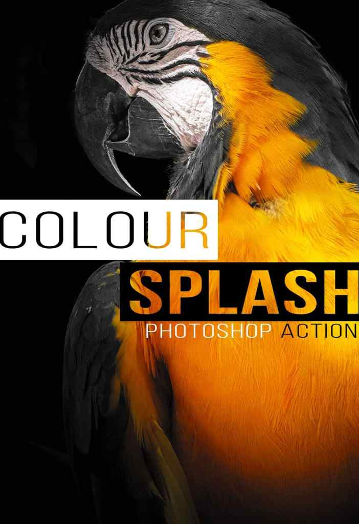 colour splash photoshop action