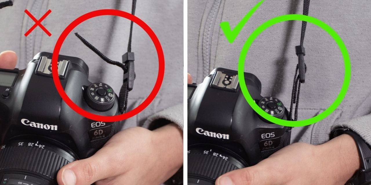 How To Tie A Camera Strap (The Right Way)
