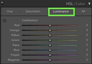 Luminance-In-HSL-Adjustment