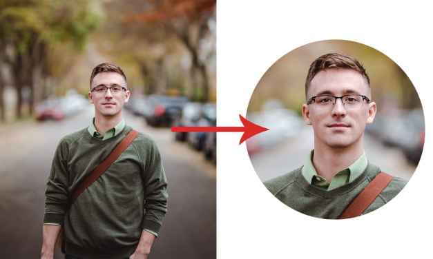 How To Crop Images In A Circle Shape Using Photoshop