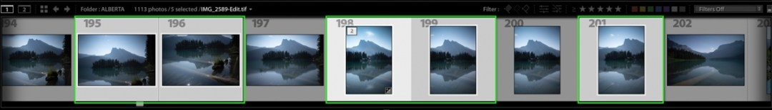 multiple-photos-selected-in-lightroom