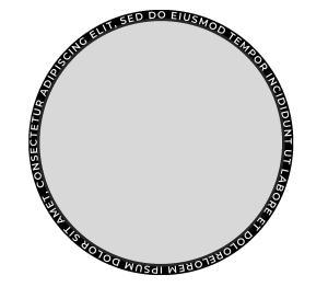 highlight-all-text-around-shape