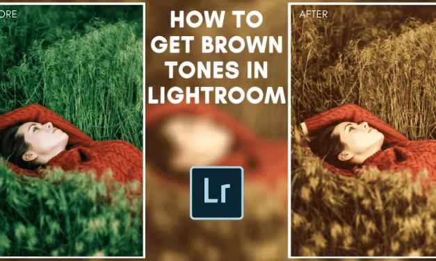 How To Get Brown Earthy Tones In Lightroom