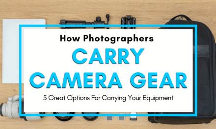 How Do Photographers Carry Their Camera Gear?