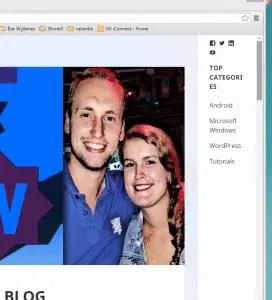 Add an extra sidebar to your WordPress theme.