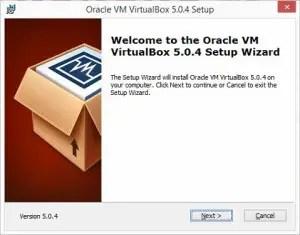 How to install a virtual machine in VirtualBox.