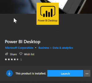 Power BI Desktop Unable to open document - Install latest version.