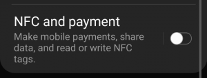 FIX: 'No supported app for this NFC tag'.