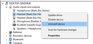Beats by Dre drivers.