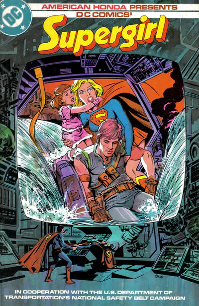 Scanning My Collection Supergirl wears her seat belt  BW Media Spotlight