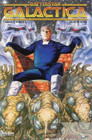 Yesterdays Comic Battlestar Galactica Season 3 3  BW