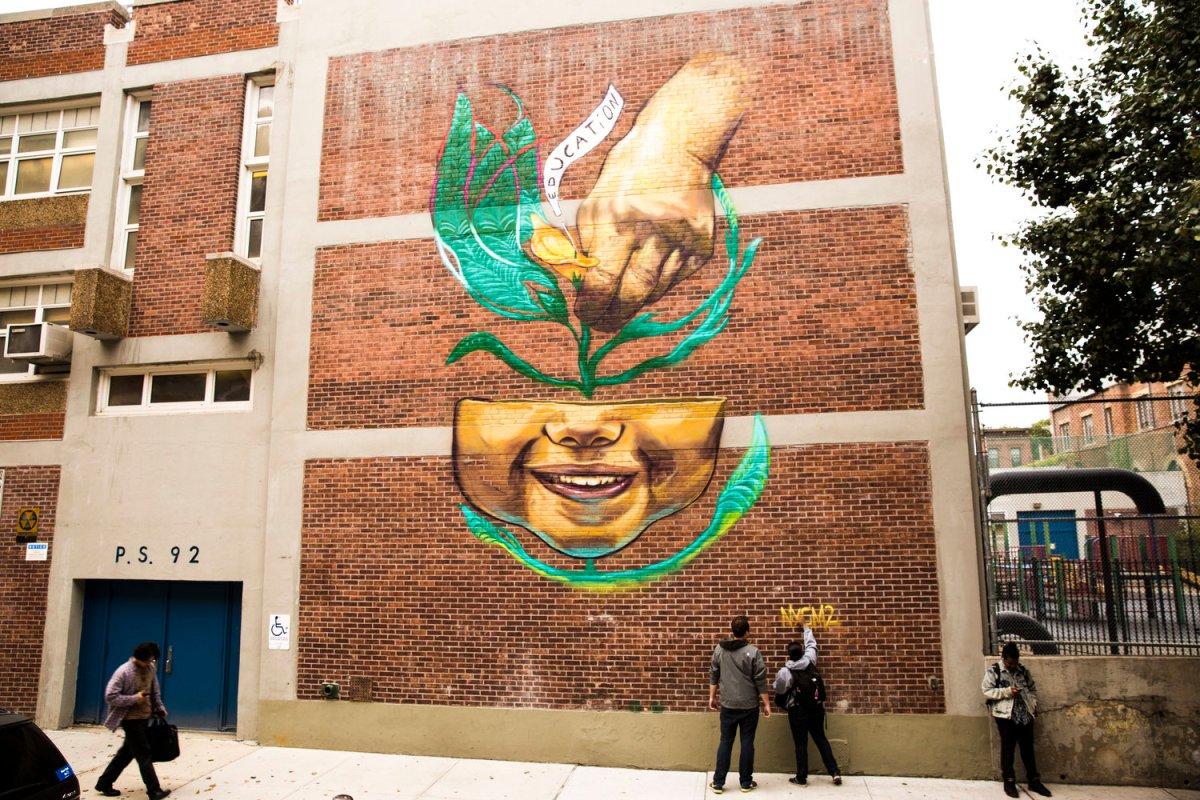 Murals Symbols Of Solidarity Resilience - Bah World