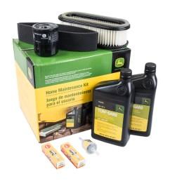 genuine oem home maintenance kit john deere 285 320 345 mower lg186 [ 1000 x 1000 Pixel ]