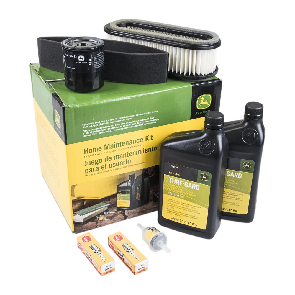 medium resolution of genuine oem home maintenance kit john deere 285 320 345 mower lg186
