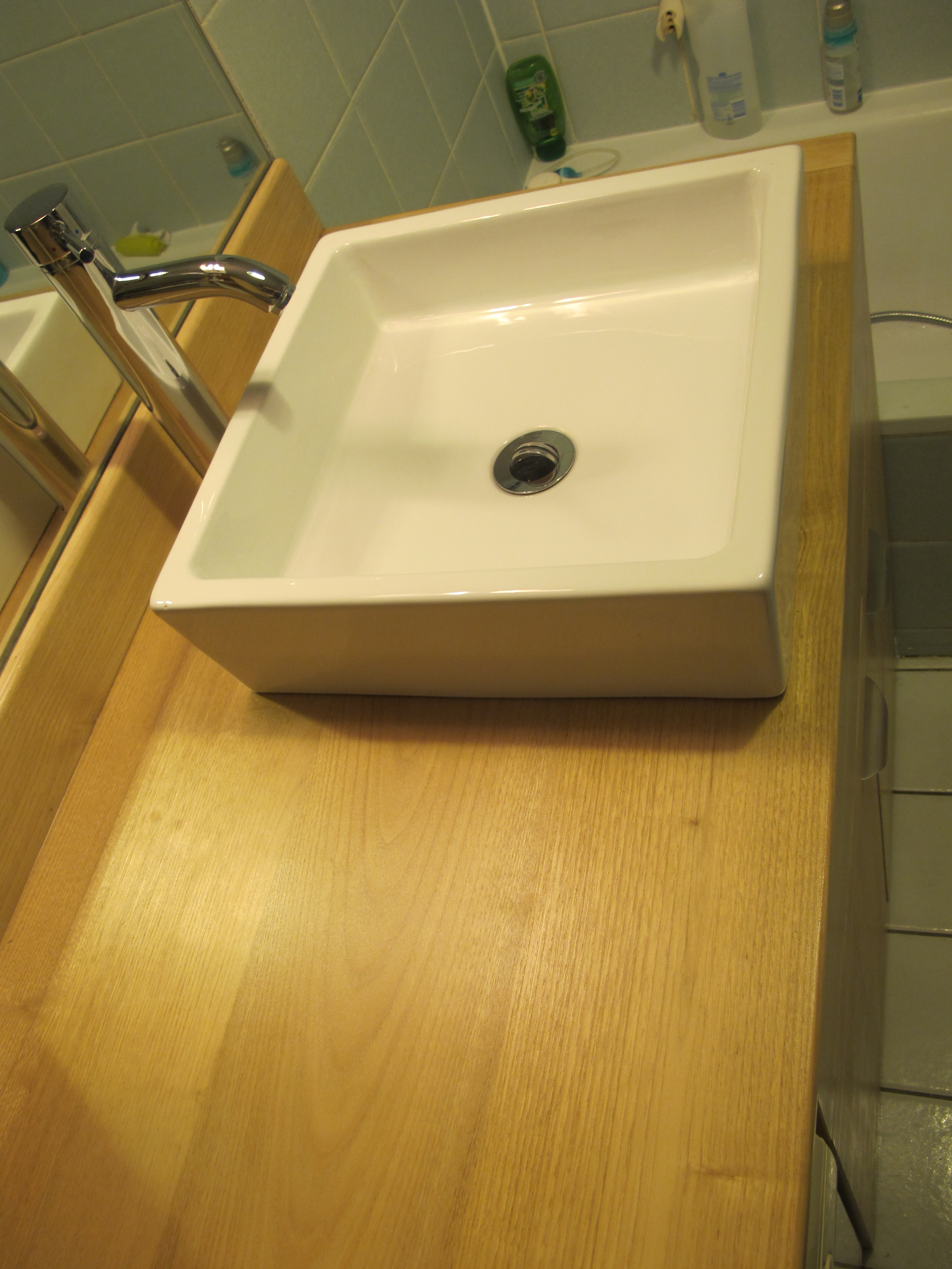 Meuble sous vasque  salle de bain  WB Ralisations
