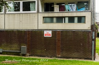 Like all housing estates ball games are prohibited. Those signs make me laugh, I've never seen anyone actually take any notice of them, and people round hear just chuck stones if they don't like someone anyway...