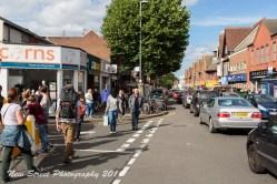 The high street by Birmingham photographer Barry Robinson