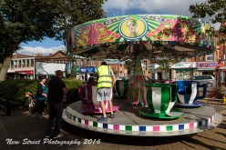 The teacup ride by Birmingham photographer Barry Robinson