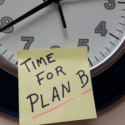 time for plan b life happens