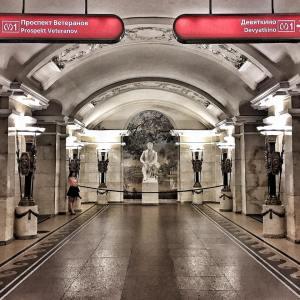 ...not a museum: Saint Petersburg subway