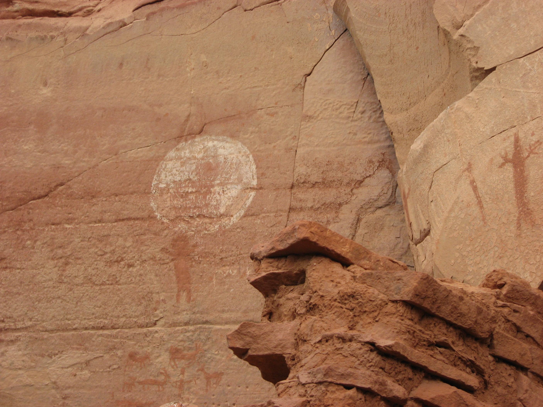 Rock art, Boynton Canyon, AZ