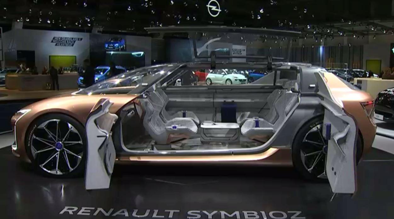 Salon de lAuto  voici la voiture du futur
