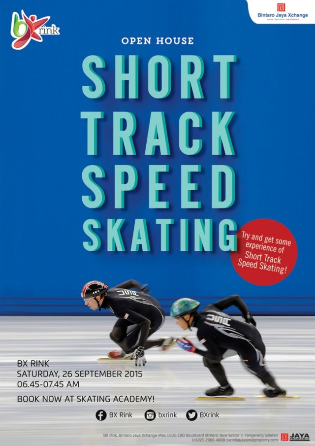 Open House Short Track Speed Skating di BX Rink