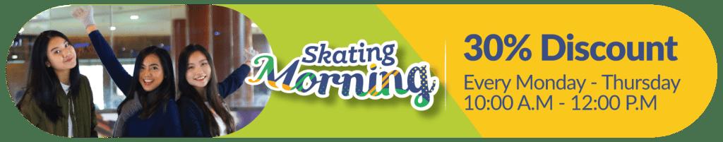 Promo Harian BX Rink Bintaro Xchange Ice Skating Rink Morning