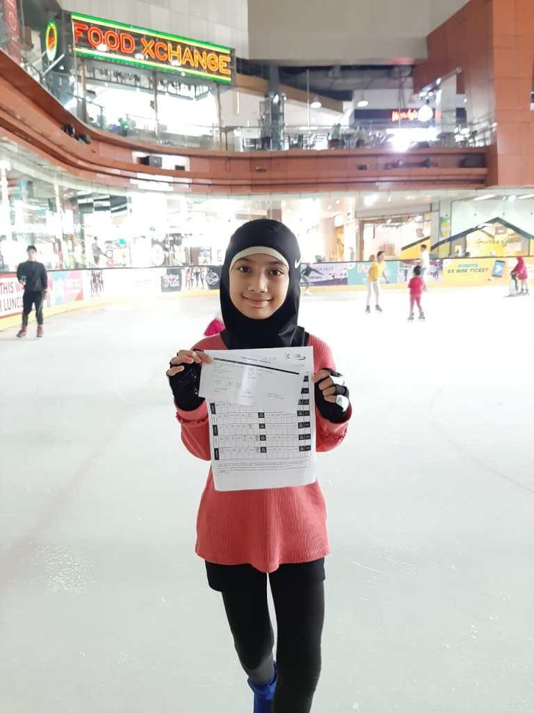 Azka Kumari Skaters BX Rink (Freestyle 1)