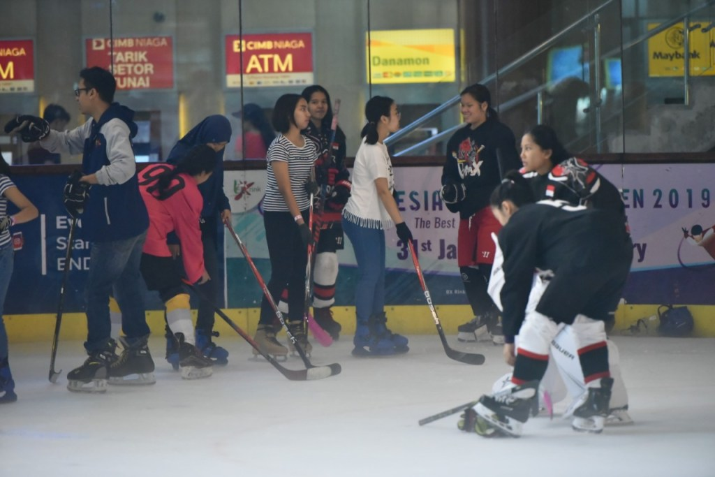 World Girls Ice Hockey Weekend 2019 at BX Rink Bintaro Jaya Xchange Ice Skating Rink - 9