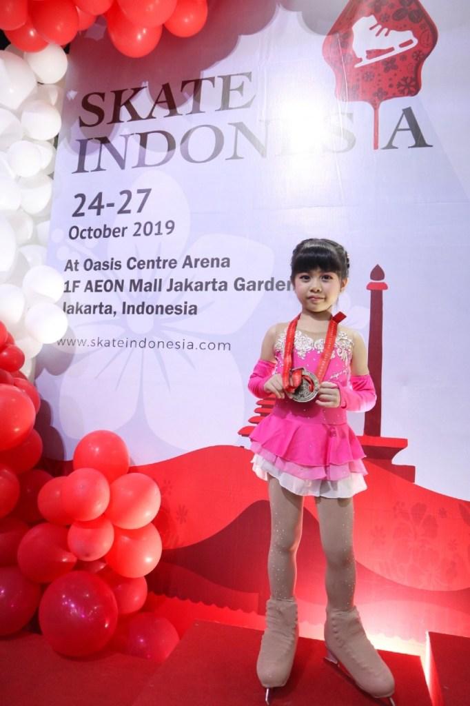 BX Rink Figure Skating Team - Skate Indonesia 2019 Oasis Centre Arena - Elisha Annabelle Sahanggamu - 2