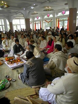 Inaguration of the new satsang hall (4/6)