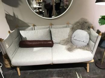 Canapé cosy chez Bloomingvill