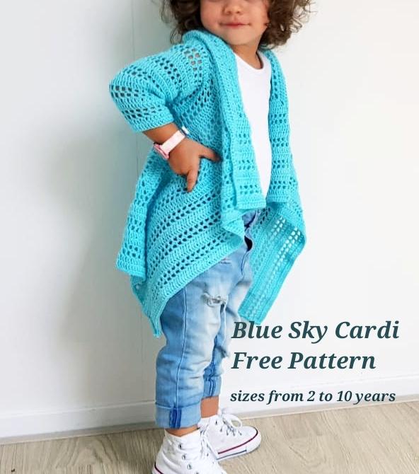 Blue Sky Cardi