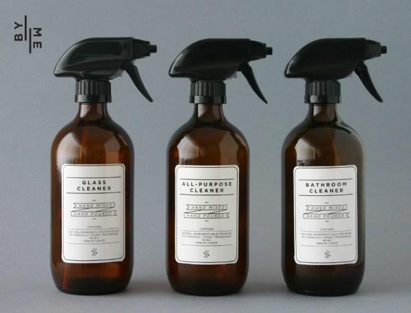 ByMe Amber Glass Spray Bottles