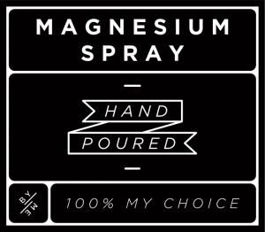 MINI magnesium spray decal