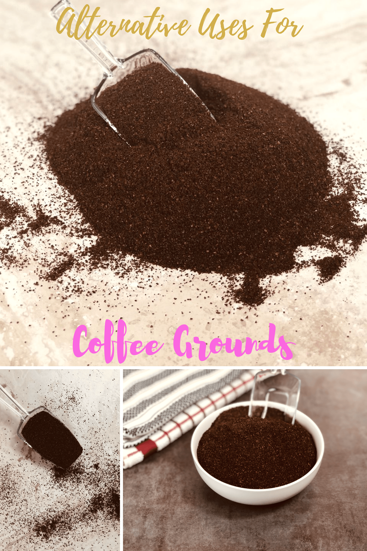Coffee is great for giving you that energy boost to start your day, but it is also useful in the home as well. #coffee #coffeelovers #repurposed #reuse #recycled #alternativeuses #thrifty #frugal #frugalliving