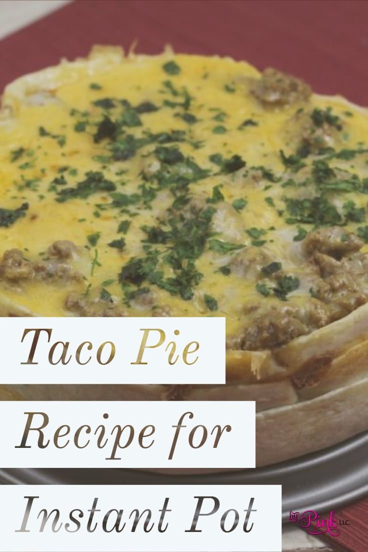 Since I got my Instant Pot pressure cooker, I have been bound and determined to recreate all of my favorite recipes in it. Today's recipe is this amazing Instant Pot Taco Pie.
