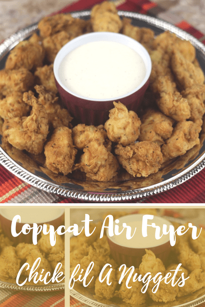 My kids loved my Copycat Air Fryer Chick-fil-A Nuggets too, they actually asked me to make more the same night. I didn't lol, but next time I will make probably a double batch and then freeze them for the kids to reheat and eat as an after-school snack or on the weekends. #copycat #recipe #airfryer #kids #easy #recipes #airfryerchicken #chickenbreast #chickenfoodrecipes #easy