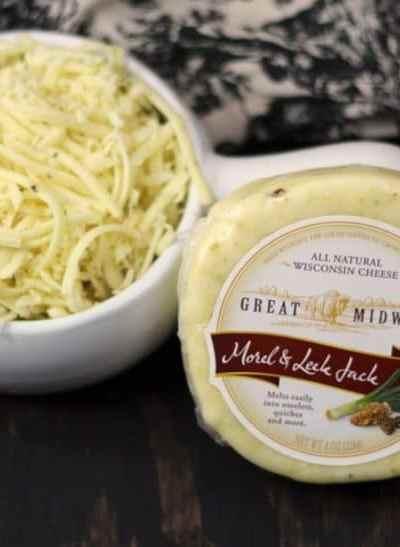 Instant Pot Morel & Leek Jack Macaroni and Cheese
