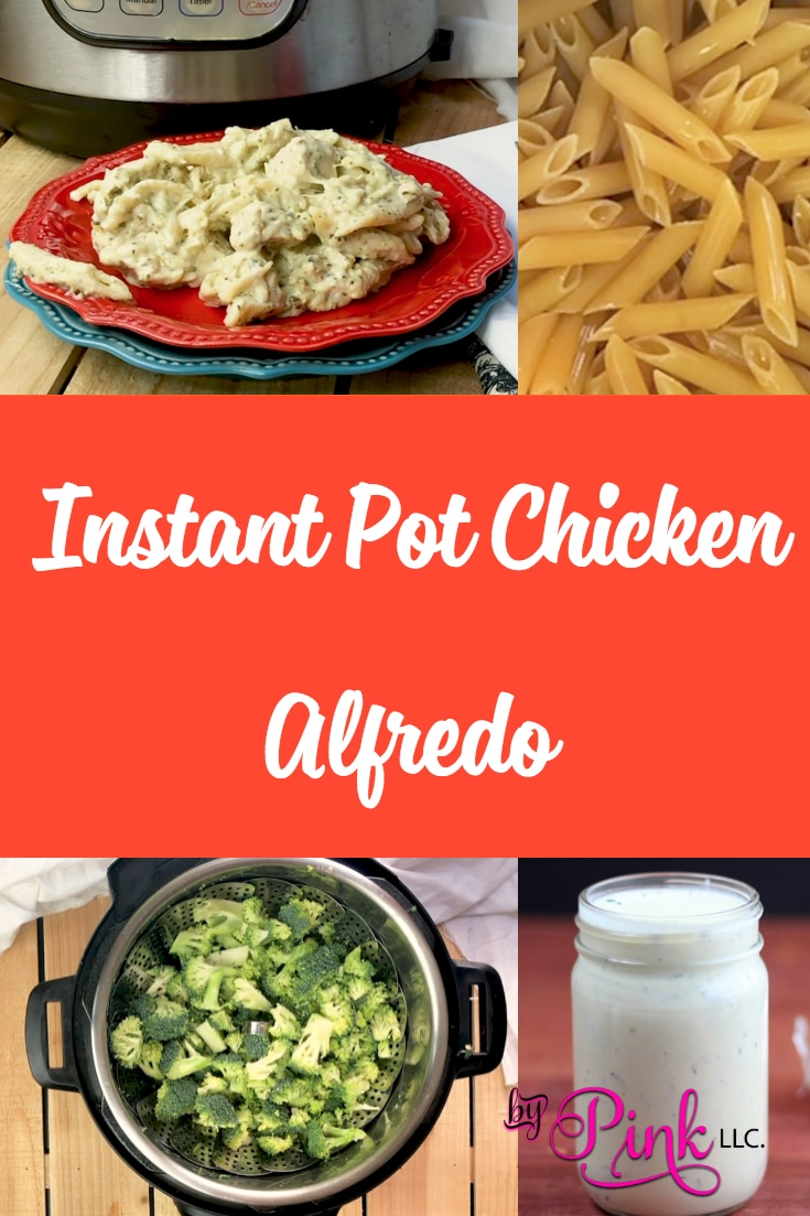 This Instant Pot Chicken Alfredo is going to be an instant family favorite. A no-fuss chicken alfredo recipe, that can be made in no time. #recipes #chicken #instantpot #chickenbreast #recipe