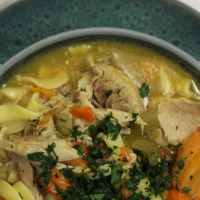 Instant Pot Hearty Chicken Noodle Soup