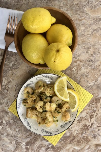 Lemon Garlic Shrimp has become a family favorite overnight. This dish is so quick and easy to make but packed full of flavor. It is a gourmet meal that you can make in under 10 minutes of prep and cook time. The minced garlic paired with the lemon and parsley, really make this shrimp taste outstanding. You can serve over a bed of rice, pasta, couscous, quinoa, or alone with a side of crusty bread for a delectabledinner any day of the week. However you decide to serve it up, I am sure it will be a hit!
