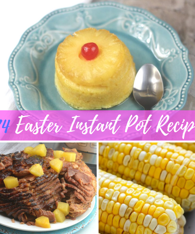 Easter is right around the corner, and what could be easier than making Easter dinner happen right in your Instant Pot? So many recipes have been mastered using the Instant Pot, which will make for some epic Easter Recipes. If you don't believe me then just check out these 24 Easter Instant Pot Recipes