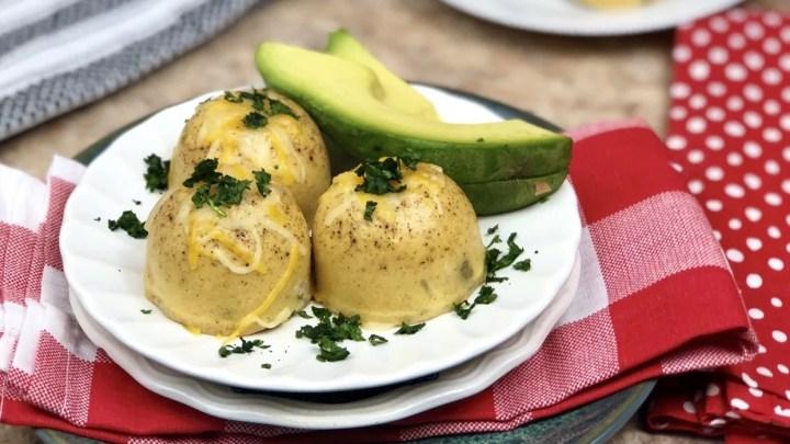 Southwest Pico Avocado Instant Pot Egg Bites