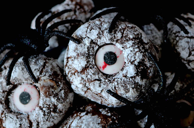 Halloween Cookies - Cyclope Cookies