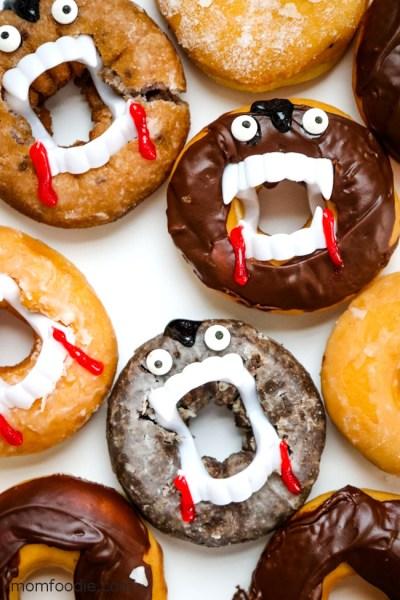 Halloween Recipes - Vampire Donuts