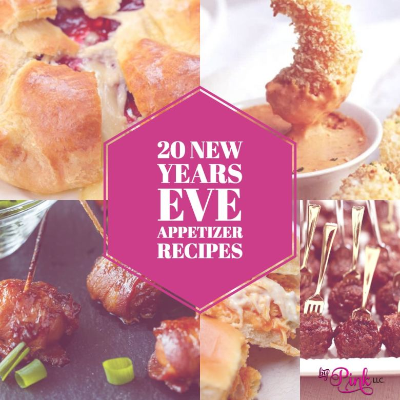 20 New Years Eve Appetizer Recipes #newyearseve #newyear #appitizer